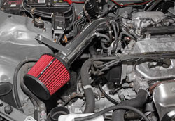 The Spectre Performance short ram intake for D15B or D16Z Civic EG models as well as D16Y powered EK models offers increased performance with easy installation and low cost