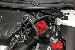 Engine bay shot of Spectre Performance Air Intake for 2007-2012 Nissan Altima 2.5 models