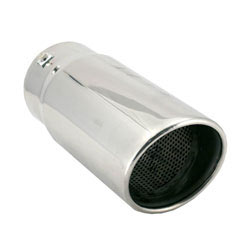 """The exhaust tip available from Spectre Performance, part number 22421, is 4-1/2"""" in diameter"""