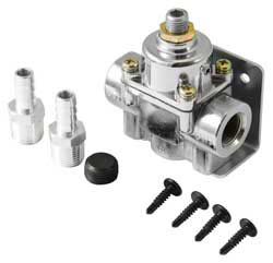 Adjustable fuel pressure regulators from Spectre Performance