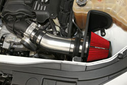 Engine Bay Shot Spectre Intake for 2011-2014 Dodge Challenger, Charger, and Chrysler 300 SRT8 6.4L models