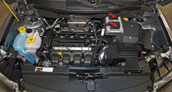 Spectre 9053 intake system installed on Jeep Compass 2.4L