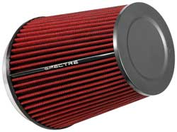 Quality materials are used in the Spectre HPR filter including synthetic media urethane & steel