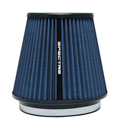 The air filter is comprised of a non-woven material often used in hospital HVAC systems
