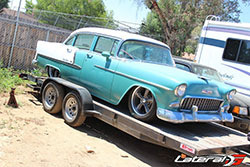 1955 Chevrolet Bel Air before work began