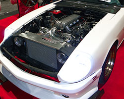 Clarence of Bare Speed used a 2008 Chevrolet Corvette based LS3 V8 engine