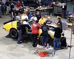 The 48 Hour Corvette build was very in depth, including a host of electronics only found in modern supercars