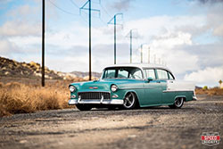 1955 Chevrolet Bel Air completed