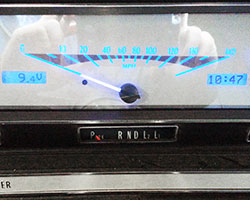 Dakota Digital VHX Instruments retain the gauge needles and backlit faces