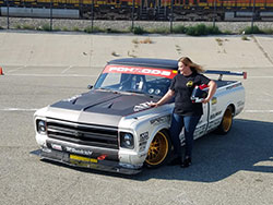 Brandy Phillips at the NMCA West Hotchkis Autocross