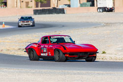 1965 Chevy Corvette driven by Brian Hobaugh at the Ultimate Street Car Challenge