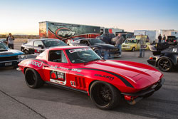This 1965 Chevy Corvette was displayed at the 2013 SEMA show
