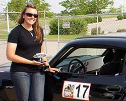 Brandy Morrow Phillips grew up in the automotive industry as well as the racing scene at events held by SCCA and NASA before eventually driving competitively in Goodguys Autocross racing