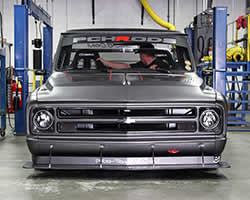 Chevrolet LS1 V8 engine in a 1972 Chevy C10 R
