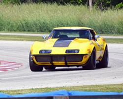Spectre Performance equipped RideTech Suspension 1972 C3 48 Hour Corvette
