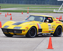 Chris Smith with Spectre equipped 48 Hour Corvette