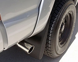 Slant Tip style Spectre Performance exhaust system tips are available in two sizes