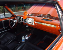 This Malibu SS features a flawless interior, as well as view of the Spectre intake assembly through the cowl induction hood