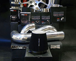 universal air intake parts from Spectre Performance makes it easy to build a custom cold air intake system