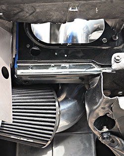 Matt McKahan utilized unused space for his 1982 Buick Regal LS engine swap cold air intake