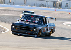 Brandy Phillips and her PCH Rods built 1972 Chevrolet C-10R pickup earned a solid 68th place