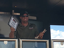 John McKissick wins the Spectre Performance Spirit of the Event invite to OUSCI.