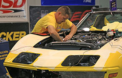48 Hour Corvette built at the RideTech facility
