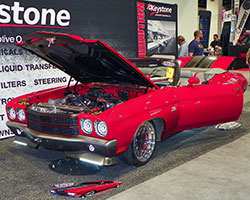 The Spectre Performance equipped 1970 Chevelle convertible