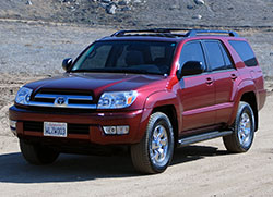 Early Toyota 4Runners weren't much more than a Toyota Pickup; subsequent generations have transformed the 4Runner into a semi-luxury SUV