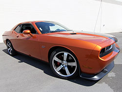 The Challenger was the first of the three LX platform based cars to receive the new 6.4L 392 Hemi engine