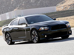 The Dodge Challenger SRT8 6.4L 392 Hemi pumps out just as many horsepower as the Challenger coupe