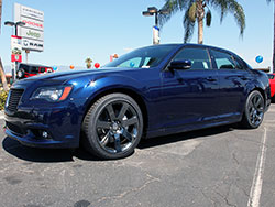 Chrysler's performance SRT division enhanced the Chrysler 300 SRT8 with sport tuned suspension