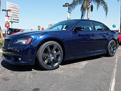 Chrysler's performance SRT division enhanced the Chrysler 300 SRT8 with sport tuned suspension