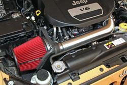 2012-2015 Jeep Wrangler 3.2L Spectre Air Intake