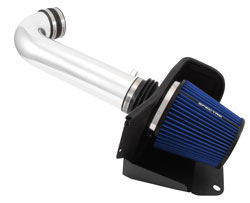 Spectre air intake system with blue filter