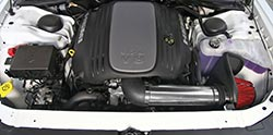 Spectre Air Intake Installed on Chrysler 300C