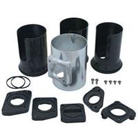 Spectre 9405 3-inch aluminum mass airflow sensor adapter kit