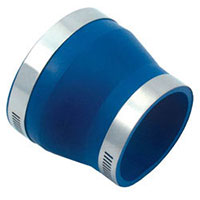 4-inch PVC couplers and reducer