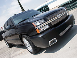 GM Trucks and SUV's with V8 engines, like this 2001 Chevy Silverado 1500, can enhance horsepower and torque for towing or every day driving with a Spectre Performance intake