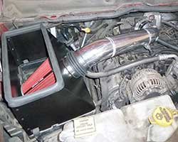 A Spectre Performance late model air intake, like 9932, is designed to add horsepower, torque, and polished aluminum air intake tubes add a custom look to 2002-2008 Dodge Ram 1500 and Dodge Ram 2500 pickup trucks with a 4.7L or 5.7L V8 engine