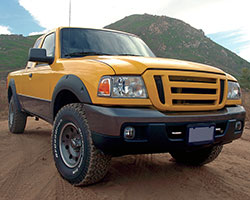 >The Ford Ranger shared a platform with second generation Ford Explorer and Mercury Mountaineer