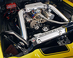 >Spectre Performance has made air filter heat shield available for both sides of the car