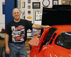 Greg Thurmond founder of Outrageous Paint by GTS Customs