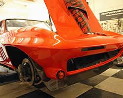 Greg Thurmond and GTS Customs corvette