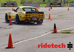 Chris Smith in the Spectre equipped 48 Hour Corvette finished the Goodguys Heartland Nationals autocross in second place