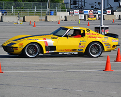 Chris Smith powered the Spectre Performance equipped 48 Hour Ride Tech Corvette into 3rd place