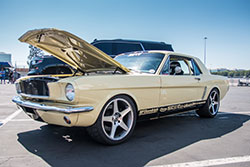 First generation Mustang at Auto Enthusiast Day