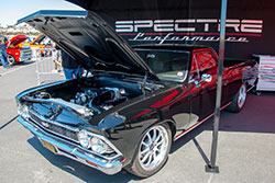 Spectre Performance attended the 16th Annual Goodguys Del Mar event, displaying vehicles with different air intake setups