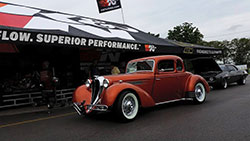 The Spectre booth near the autocross will also host on-site custom air intake design and installations.