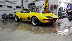 Smith has done exceptionally well in the Spectre sponsored 1972 Corvette throughout the 2016 race season.